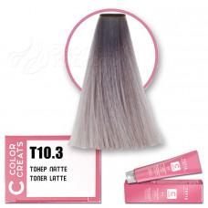 Краска для волос Color Creats T10.3, Tefia