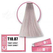 Краска для волос Color Creats T10.87, Tefia