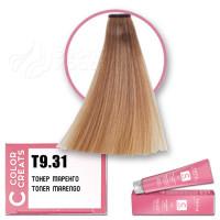 Краска для волос Color Creats T9.31, Tefia