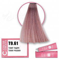 Краска для волос Color Creats T9.61, Tefia