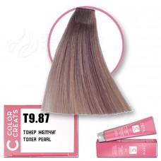 Краска для волос Color Creats T9.87, Tefia