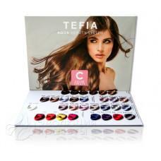 Цветовая палитра крем-краски Color Creats, Tefia