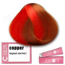 Краска для волос Color Creats - медный контраст, Tefia
