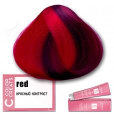 Краска для волос Color Creats - красный контраст, Tefia