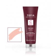 Маска для волос оттеночная Color Creats, Tefia - пудровая