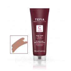 Маска для волос оттеночная Color Creats, Tefia - бежевая